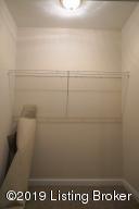 large storage closet lower level blossom