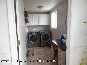 large laundry room off kitchen